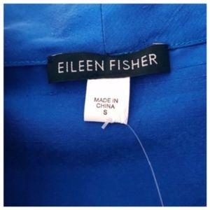 Eileen Fisher Tops - NWT Eileen Fisher Dupioni Silk Blouse High Neck S